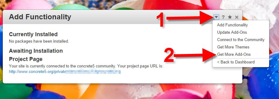 Installing the reCAPTCHA Add-on in Concrete5 | Web Hosting Hub