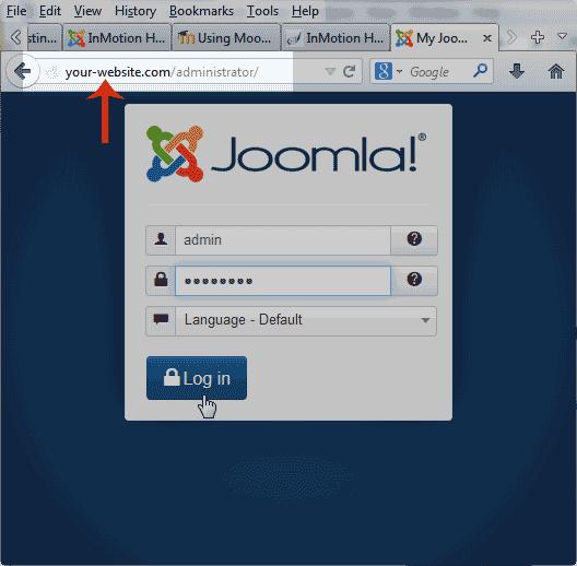 how to change domain in joomla