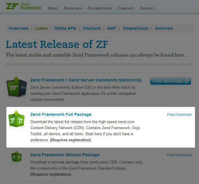 Хостинг с zend framework управление хостингом от мтс
