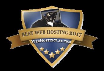 Best Web Hosting Cat 2017